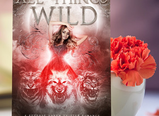 ALL THINGS WILD SURPISE COVER REVEAL!!!