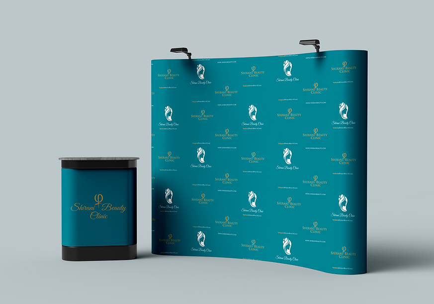 Free Trade Show Banner Stand Backdrop Wi