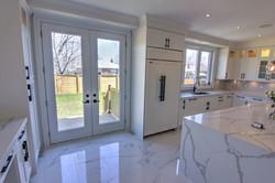 Back Door & Kitchen
