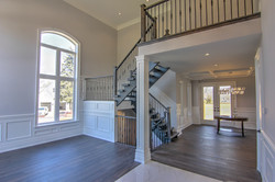 Foyer, Stairs and Dining Room