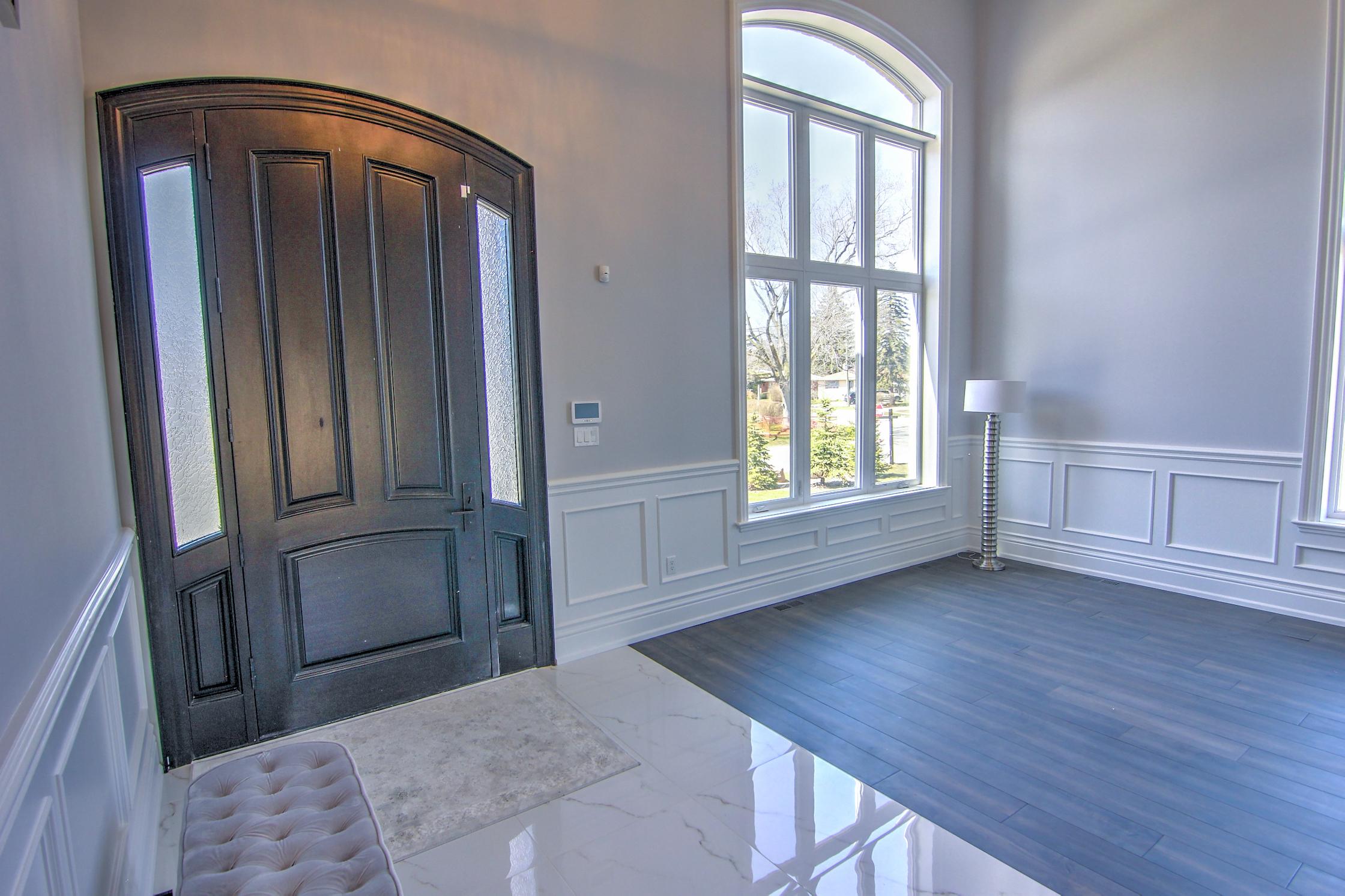 Front Door and Foyer