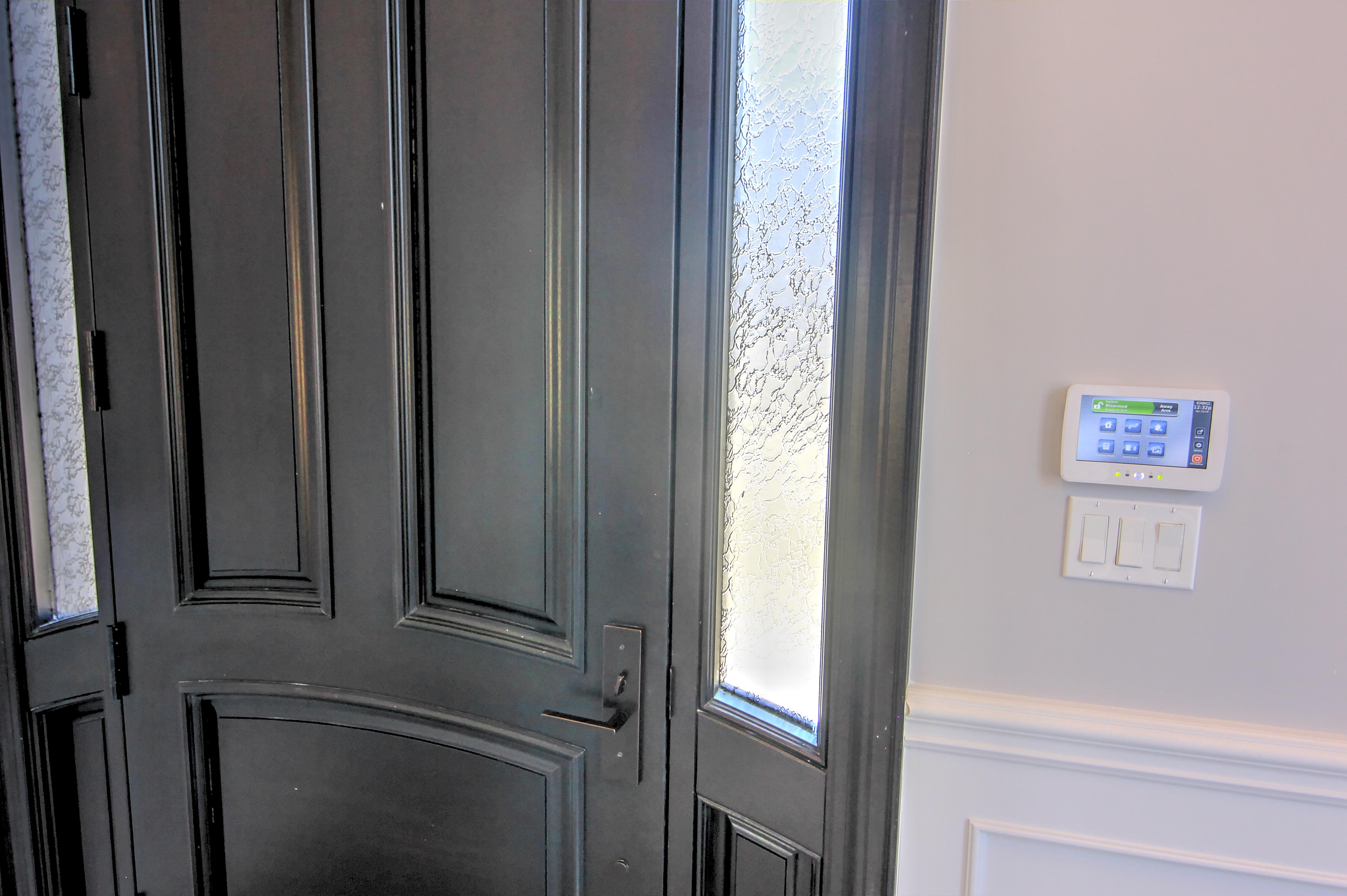 Alarm Pad at Front door