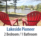 Lakeside Pioneer Vacation Rental