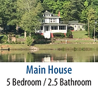 Main House Vacation Rental