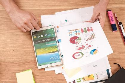 Grafieken, tabellen en smartphone