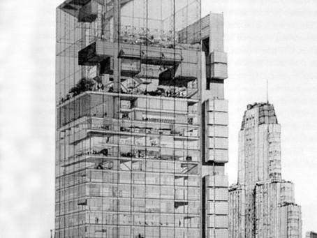 Edificio UIA. Catalinas Norte. Buenos Aires, 1968