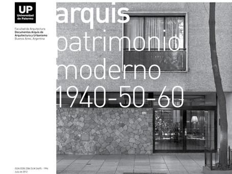 Patrimonio Moderno 1940-50-60