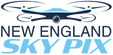 New England Sky Pix Logo - A drone flying
