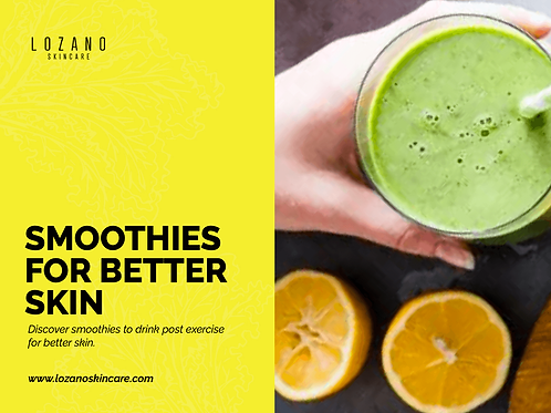 x7 Smoothies for Better Skin
