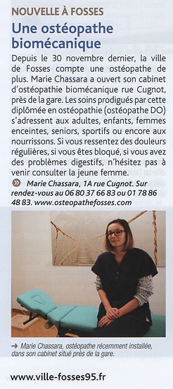 osteopathe osteo fosses marly saint witz vémars louvres plailly moussy bellefontaine roissy 95