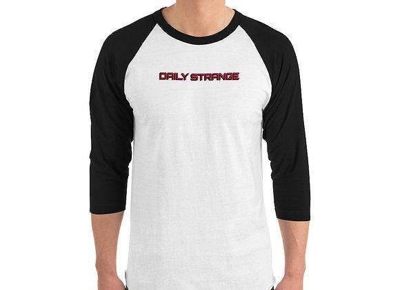 Daily Strange Royal Edition 3/4 sleeve raglan shirt