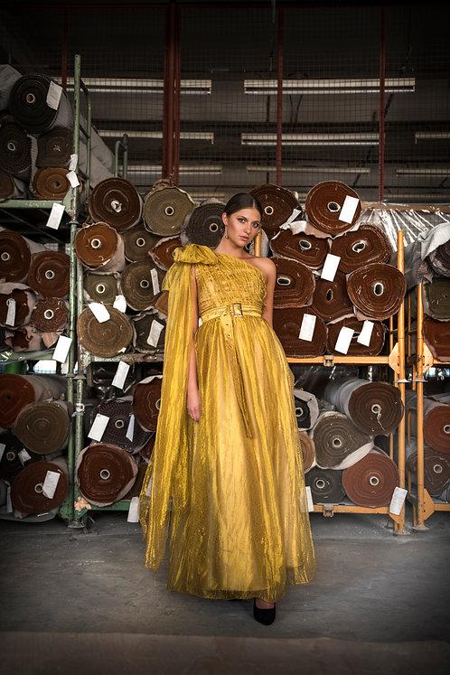 Golden Maxi Dress