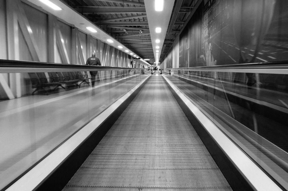 Edinburgh Airport Walkway