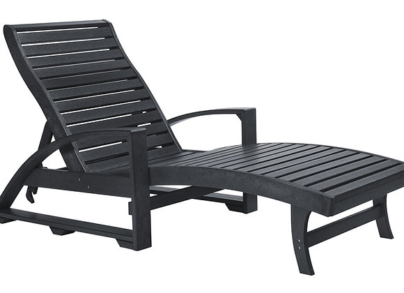 L38--CHAISE LOUNGER (WITH WHEELS)