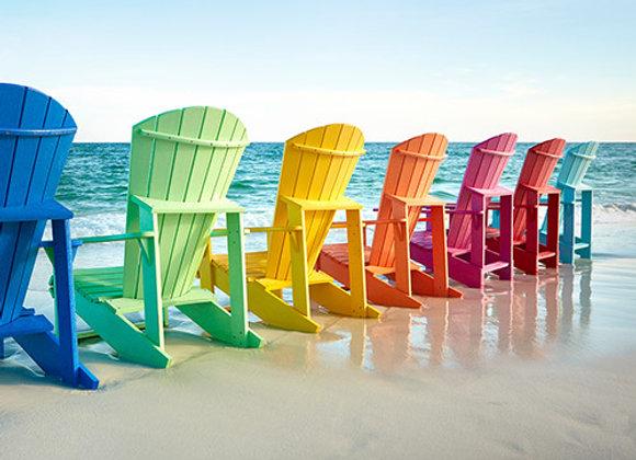 C01--Classic Adirondack Chairs