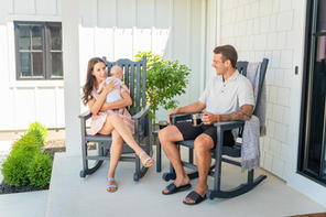 Rockers-Porch- Family relaxing