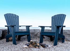 C01 Adirodack Navy Chairs
