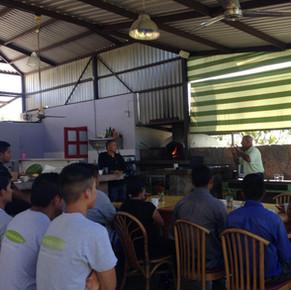 Hierbabuena Restaurante Hortaliza en El Pescadero B.C.S.
