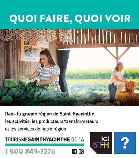 Tourisme Saint-Hyacinthe 2020