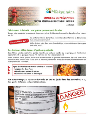 Teinture et bois traité : une grande prudence est de mise