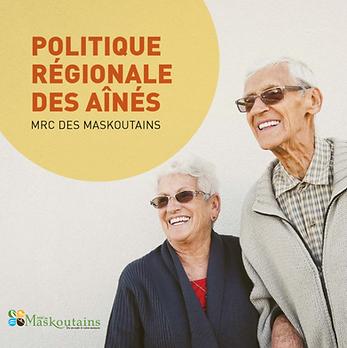 Politique régionale des aînés de la MRC des Maskoutains