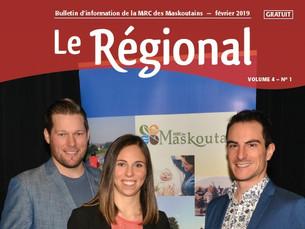 MRC des Maskoutains - Un nouveau Régional vient de paraître