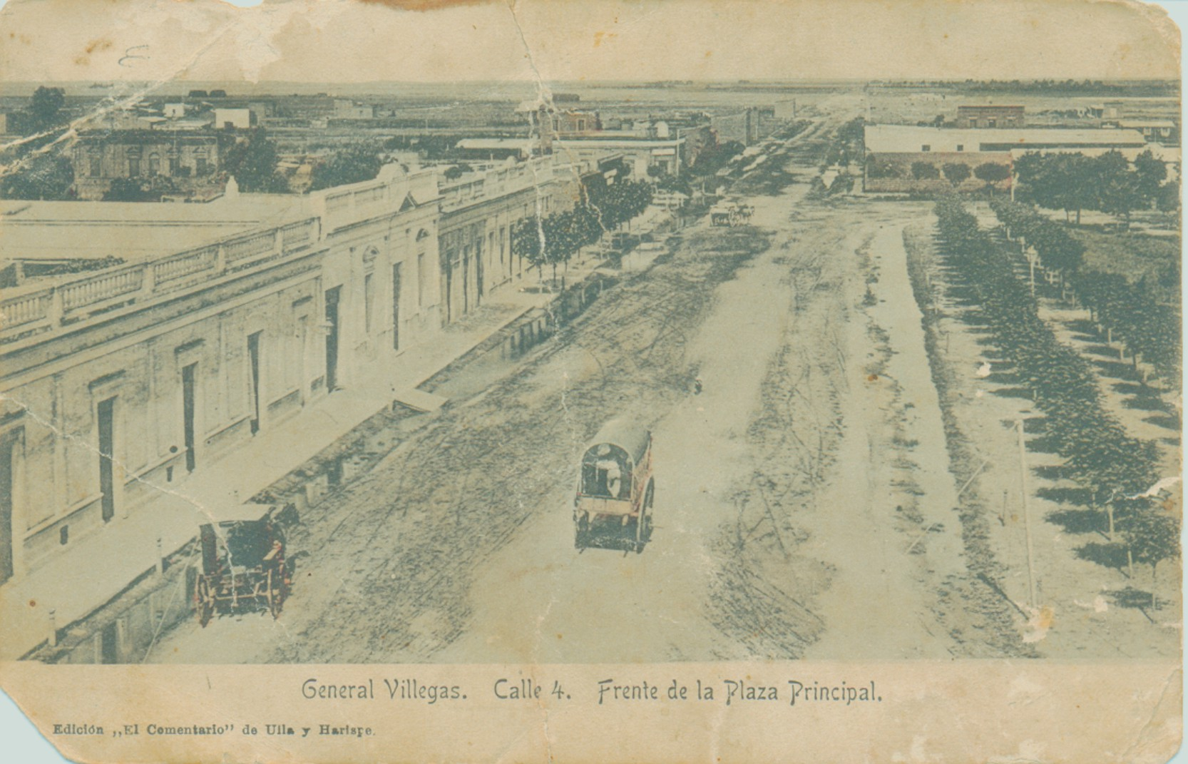 calle 4 frente plaza princ 1