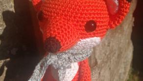 Le renard à l'écharpe