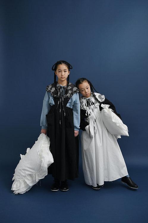 apron long dress