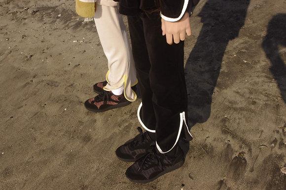 【予約商品】velours long pants