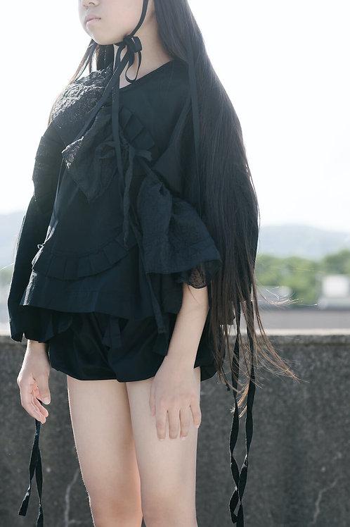 organic frill blouse