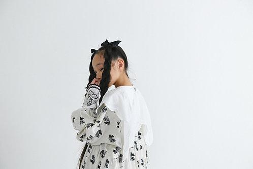 teddybear lace blouse