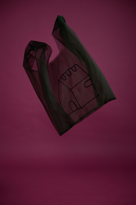 HOME tulle bag