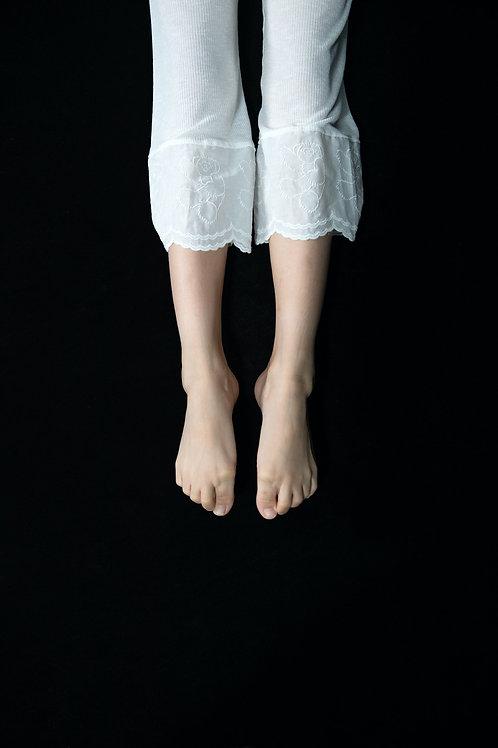 teddybear lace sheer pants