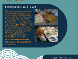 Join us for my Suminagashi Japanese Marbling Workshop!