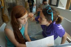 Allison Lee Photography-candid family photos- Austin, TX- Kids Art- Creative Act