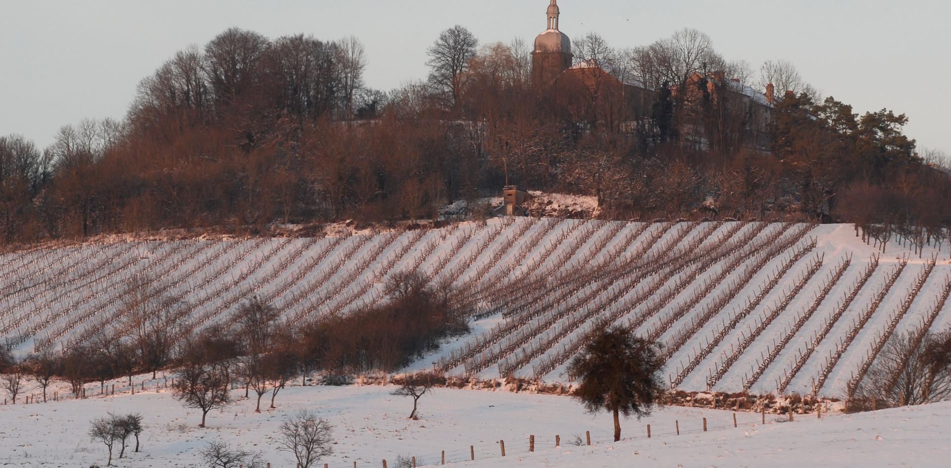 Menteau hivernal au Champ Grand-Mère