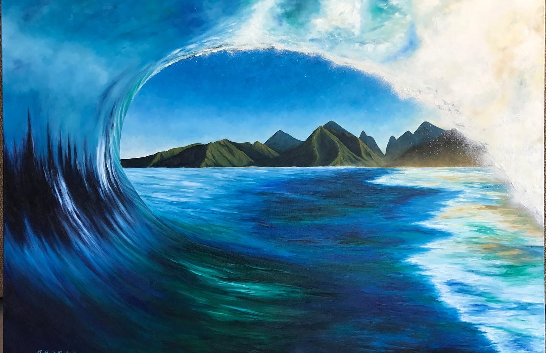 The Big Blue Wave #1