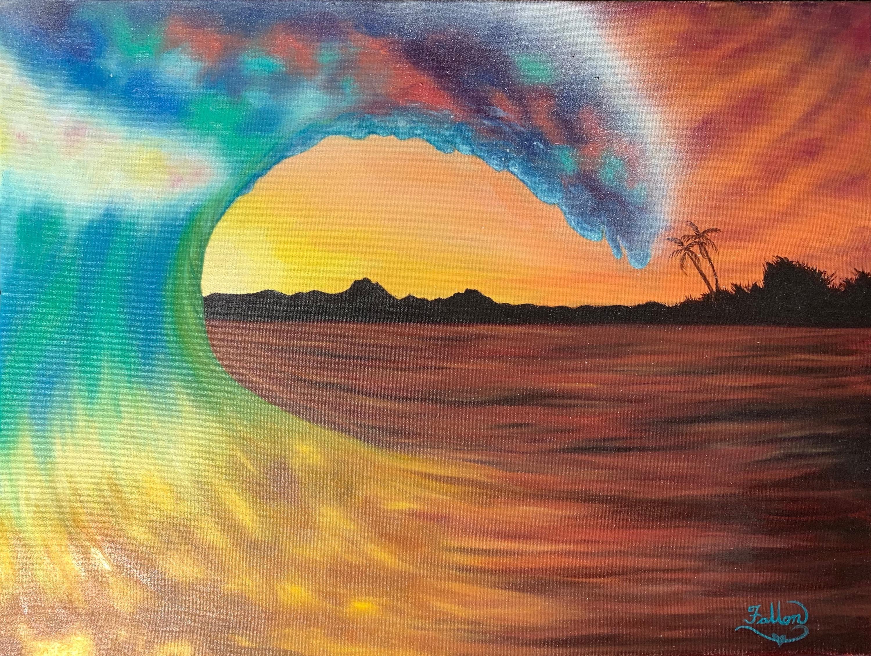 The Rainbow Wave