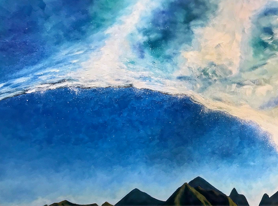 The Big Blue Wave #5