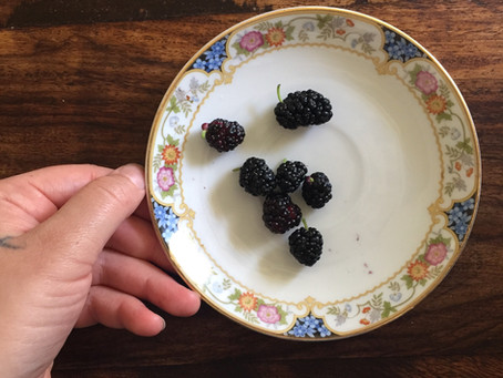Mulberry, Mulberry, Silk + Iron ~