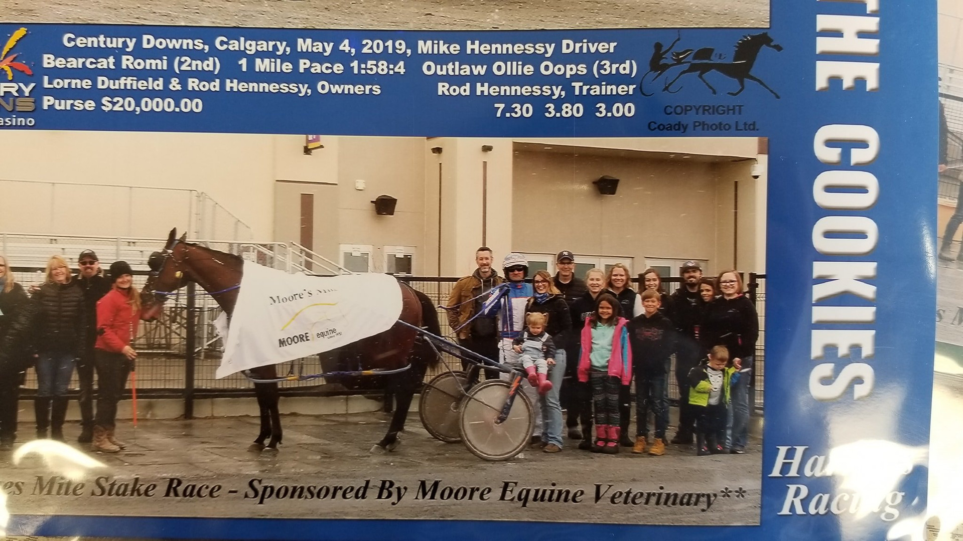 Alberta Standardbred Horse Association - Moore's Mile