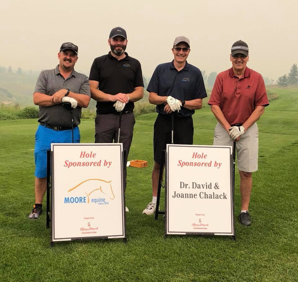 Stampede Volunteer and Friends Divot Classic