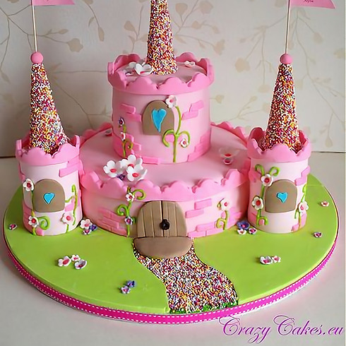 Cake Decorating: Fairytale Castle Cake - Ages 4 and up