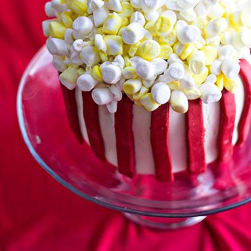 Cake Decorating: Popcorn Bucket Cake - Ages 4-14