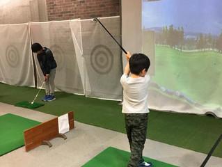 【ゴルフレッスン】川崎市高津区のジュニアたち