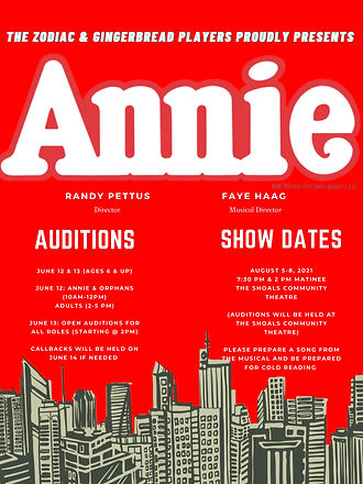 Auditions For Annie