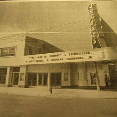 Shoals Theatre Circa 1948
