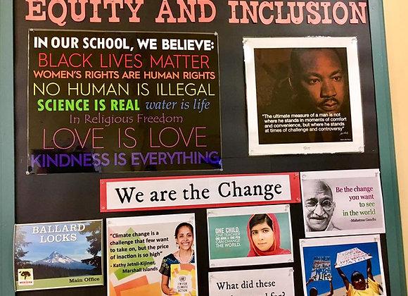 In Our School, We Believe Poster