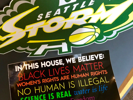 Seattle Storm joining the movement